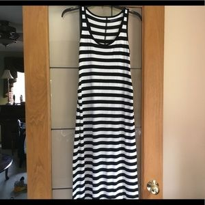 Gap maternity maxi dress